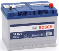 Bosch S4 026 Car Battery 12v 70Ah 540A (068, 030, 570 412 063) Buy Online from The Battery Shop